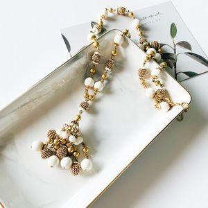 ❗️LAST ONE❗️J. Crew Bead Tassel Long Necklace